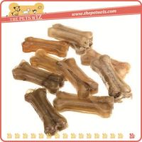 Silicone gel dog bones ,p0weh dog chews bleached rawhide knotted bone for sale