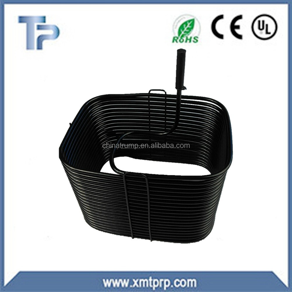 TP roll type condenser for mini refrigerator