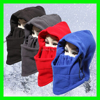 2015 Thermal Fleece Balaclava Hat Hood Ski Bike Wind Stopper Face Mask New Caps Neck Warmer Winter Fleece Motorcycle Neck Helme