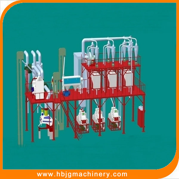 Low energy needed new wheat flour mill machinery for milling wheat