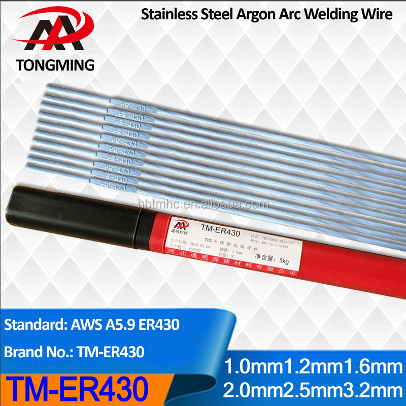 ER430 stainless steel argon arc welding wire