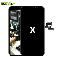 100% original for iphone x lcd touch screen repair digitizer assembly ,mobile phone accessories