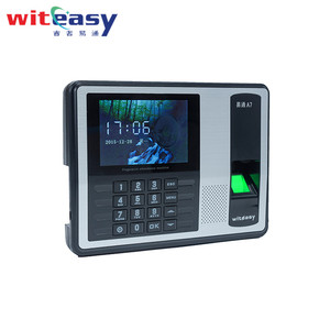 Wireless biometric wireless fingerprint scanner time attendance machine