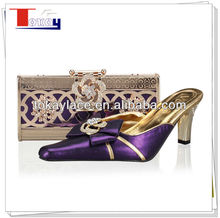 sexy purple italian sandals and matching bags women 2013