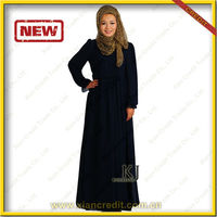 High quality Fashion baju muslim abaya black Abaya for beautiful Muslim women