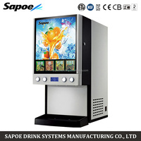 Sapoe SJ-71404S post mix fruit hot and cold drinks vending machines