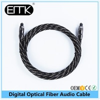 EMK 1.8M OD6.0 Hot Sale AntiqueToslink Fiber Optical Audio Video Cable