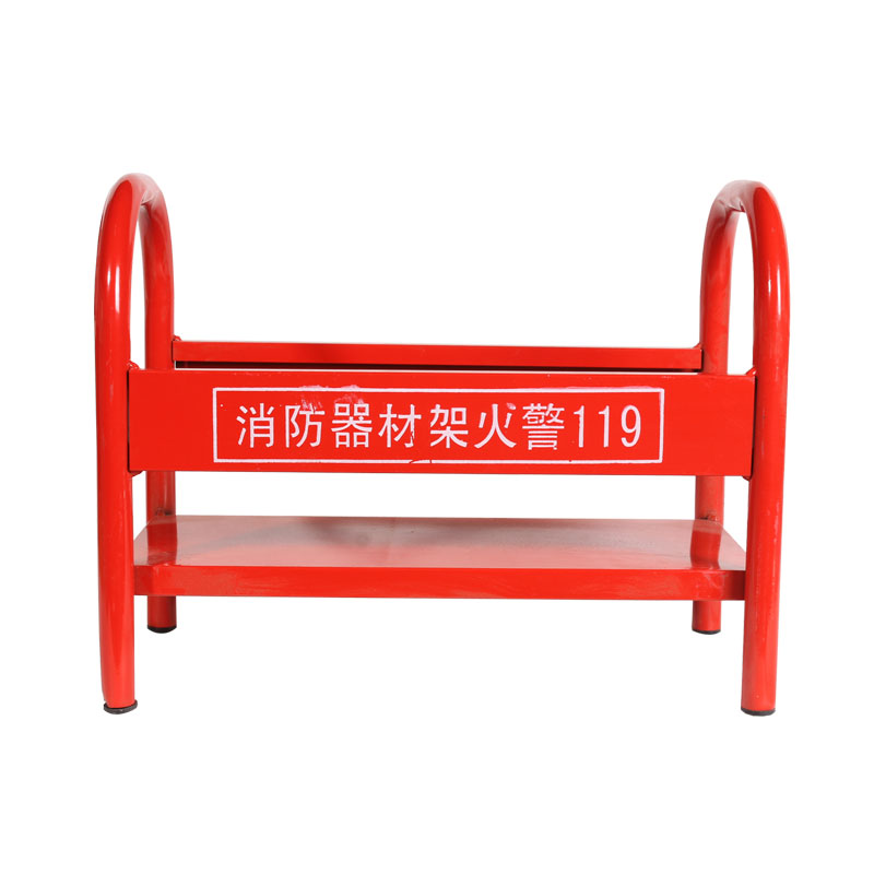 CO2 fire extinguisher shelf fire fighting box in protecting fire extinguisher