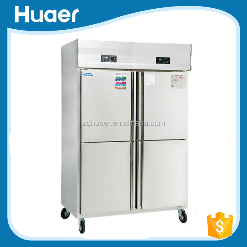 Double Temperature Refrigerator And Freezer/Commercial Gas Refrigerators/Twin Refrigerator And Freezer