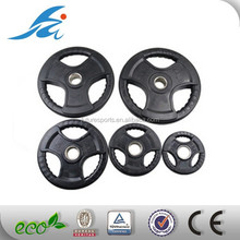 rubber coated barbell weight plate