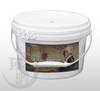 bucket packing white adhesive glue powder for wallcovering