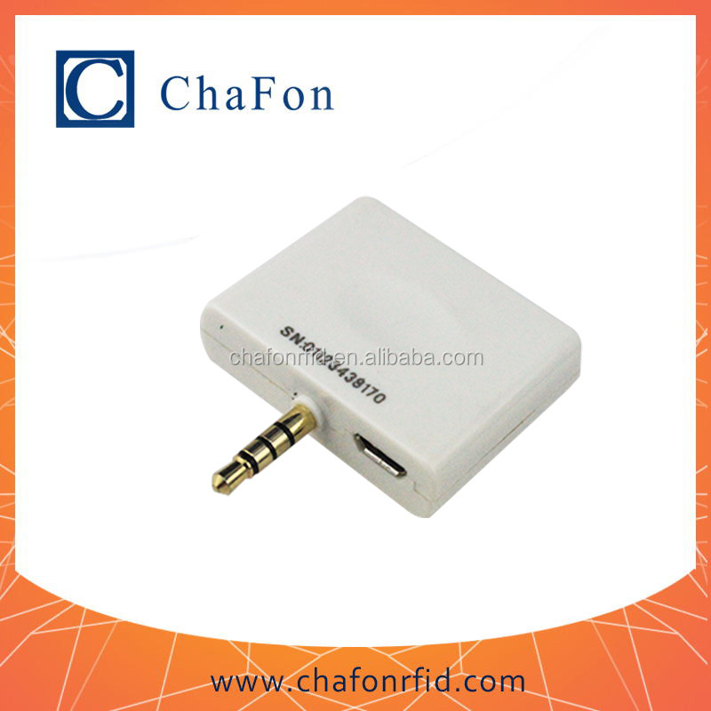 13.56mhz android and ios phone reader writer with 0-3cm read range
