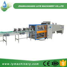 PLC Control Technology Small Bottle Shrink Wrapping Machine