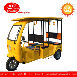 New Tuk Tuk 3 wheel electric tricycle passenger' tour car for sale