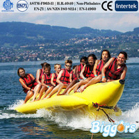 Inflatable Sea Float Banana Boat For Water Game