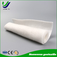 Hot sale staple nonwoven geotextile building material