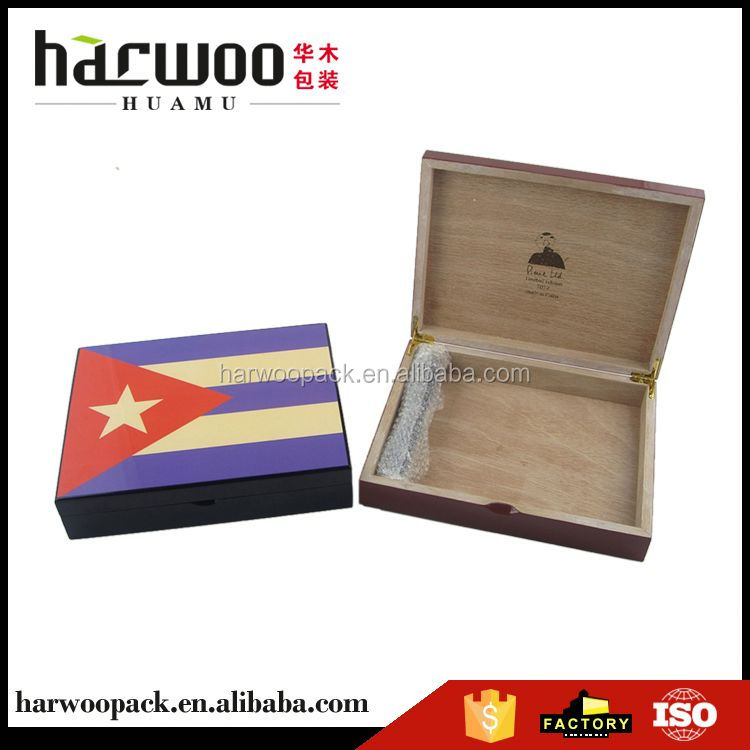 New product custom design cigarette wooden boxes with good offer