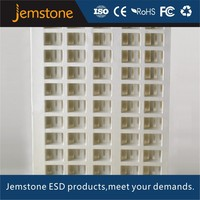 customized square plastic tray large