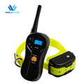 600M Remote 3 In 1 Lcd Rechargeable Waterproof Pet Dog Training Collar With 16Lvs Shock Vibration For 2 Dogs