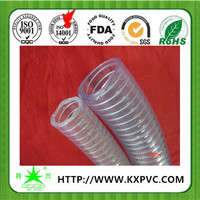 High pressure flexible vinyl suction hose