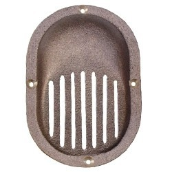 Marine Thru Hull Scoop Strainer - Medium