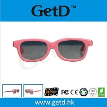 Cheap Passive circular polarized anaglyph passive 3D glasses CP297G01C for kids