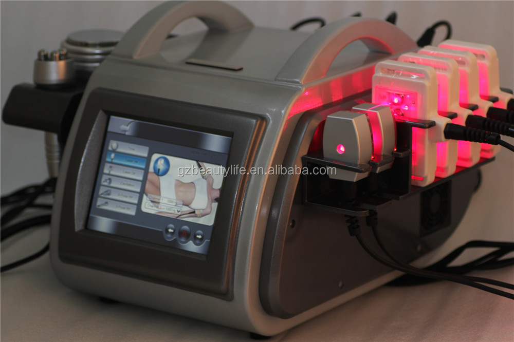 Ultrasonic cavitation radio frequency machine/Lipo laser machine/Ultrasound cavitation RF