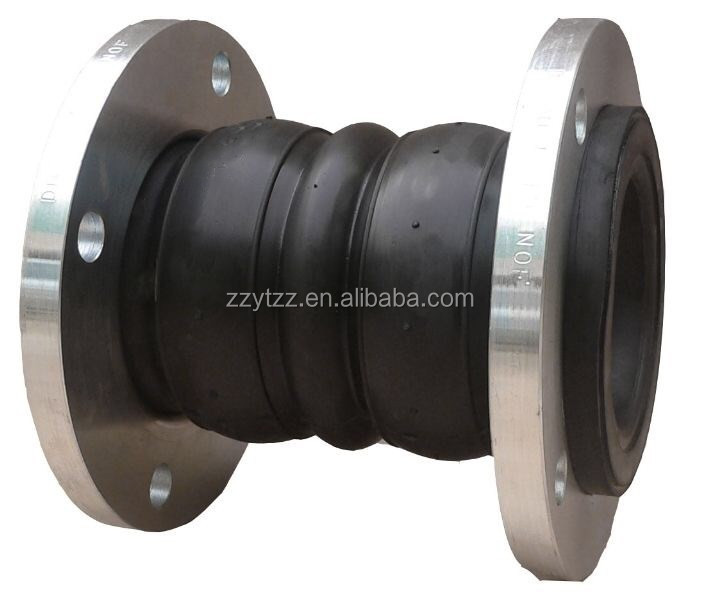Discount flanged rubber elbow pipe fitting