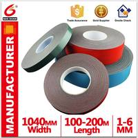 China suppliers ceramic product PE/EVA magnetic audio foam tape with strong long lasting