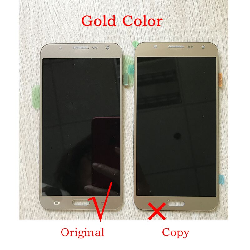 Stock 5.5 Inch LCD Digitizer Black For Samsung J7 2016 J710f LCD Touch Screen Display Original