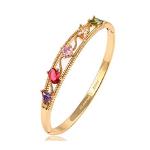 51492-Xuping Jewelry Fashion 18K Gold Plated Bracelets Bangles