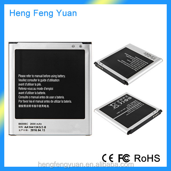 China Wholesale B600BC 2600mAh Replacement Cell Phone Battery for Samsung Galaxy S4 i9295 i9500 i9502