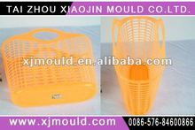 handle household basket mould,plastic injection tool handle mould,plastic household products injection mould
