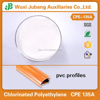 Chlorinated polyethylene CPE 135A using in plastic profiles