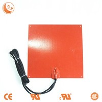Silicone rubber heater food heating pad , warming element
