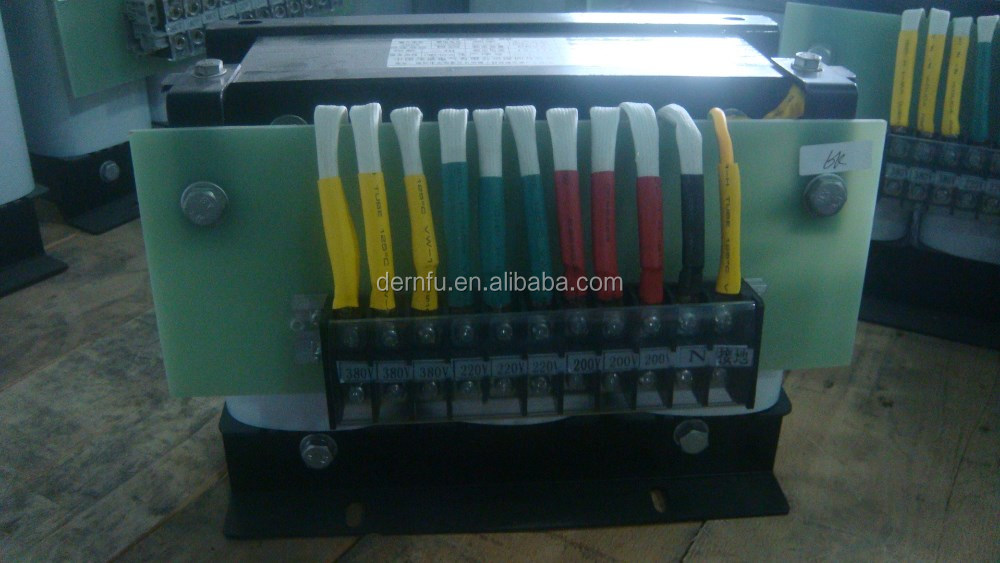 Three-phases dry type transformers, more than 20 years experience