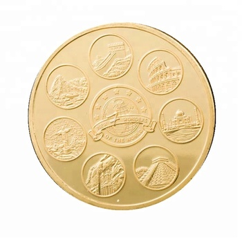 challenge coin maker cheap custom gold plated coins