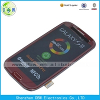LCD Display+Touch Screen For Samsung S3 SIII Mini I8190 Full Assembly, For Galaxy S3 SIII Mini I8190 LCD With Touch White
