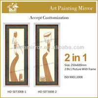 New arts and crafts decorative metal wall picture frame