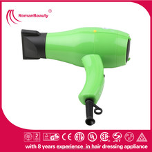 Professional hot and cold air blow dryer, plastic material hair dryer