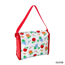 Shoulder Ice Cooler Lunch Bag For Women Kid Picnic Insulated Pack Drink Food Thermal