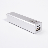 Hot Sell Promotion Gift Multiple Safety Protecting 2200mAh Portable Power Bank Mobile Charger