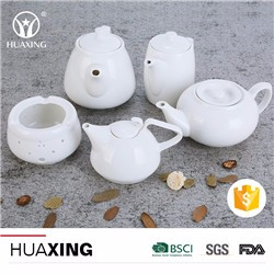 Alibaba chinese durable white porcelain ceramic modern tea cup sets for sale