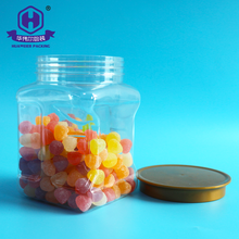 1000ml 1 litre China Guangzhou manufacturers square special sealable plastic grip jar