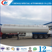 cheap price ASME lpg tanker trailer 20cbm 30m3 50cbm lpg gas propane trailer 54000 litres 28ton propane transport tank for sale