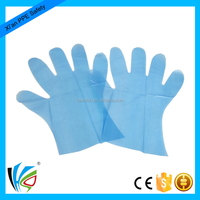 Home Garden Free Sample Medium Size Disposable Safety PE Hand Plastic Glove