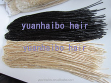 2014 new fashion! high quality 10pcs/100g/bag black color synthetic dreadlocks buy dreadlock hair extensions