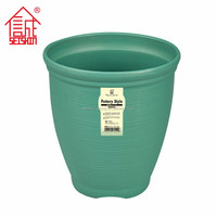 International Standard Plastic Garden Flower Pot Outdoor Planters