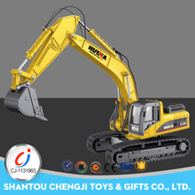 2018 hot model 1:50 alloy full metal rc excavator for sale