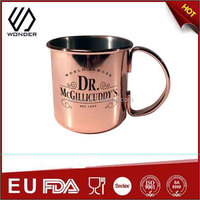 450ml stainless steel custom logo tumbler travel coffee mug